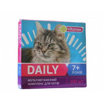 DAILY (Деили) витамины для котов +7 лет 100т. (50гр.)