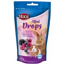Trixie витамины для грызунов Mini Drops ягоды 75г.