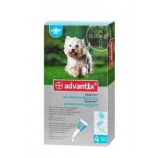 Bayer Advantix 4-10кг. (Адвантикс) капли п\п для собак 1мл.