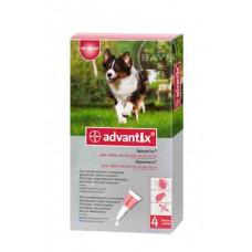 Bayer Advantix 10-25кг. (Адвантикс) капли п\п для собак 2.5мл.