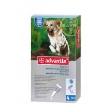 Bayer Advantix больше 25кг. (Адвантикс) капли п\п для собак 4мл.