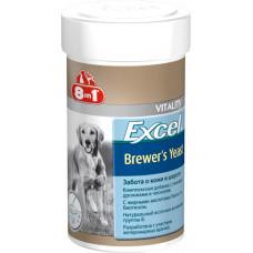 8in1 Excel Brewers Yeast витамины для собак 260таб/185ml