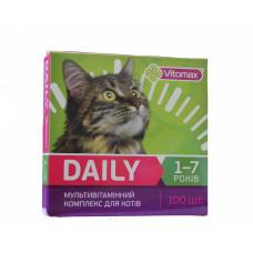 DAILY (Деили) витамины для котов 1-7 лет 100т. (50гр.)