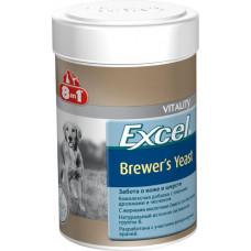 8in1 Excel Brewers Yeast витамины для собак 140таб/100ml