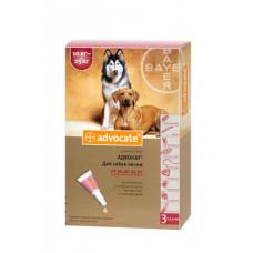 Bayer Advocat 10-25кг. (Адвокат) капли п\п для собак 2.5мл.