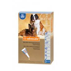 Bayer Advocat больше 25кг. (Адвокат) капли п\п для собак 4мл.