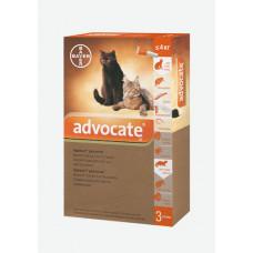 Bayer Advocat до 4кг. (Адвокат) капли п\п для котов 0.4мл.