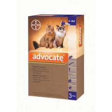 Bayer Advocat 4-8кг. (Адвокат) капли п\п для котов 0.8мл.
