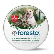 Bayer Foresto (Форесто) ошейник для собак и кошек до 8кг. 38см.