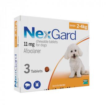 NexGard (НексГард) S таблетки п\п для собак от 2 до 4кг.