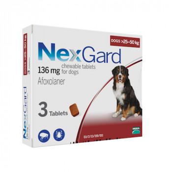 NexGard (НексГард) XL таблетки п\п для собак от 25 до 50кг.