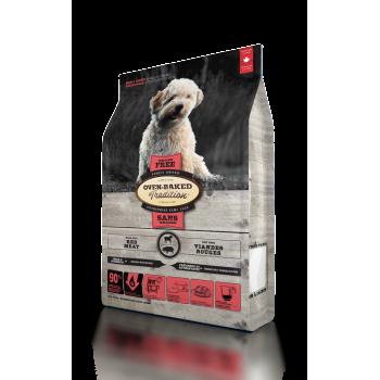 Oven-Baked Tradition беззерновой сухой корм для собак малых пород с красного мяса