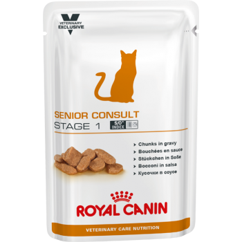Royal Canin (Роял Канин) Senior Consult Stage 1 Pouches консерва для кошек 100г.