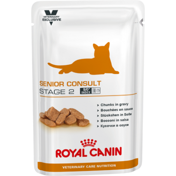 Royal Canin (Роял Канин) Senior Consult Stage 2 Pouches консерва для кошек 100г.