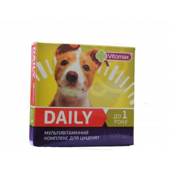 DAILY (Деили) витамины для щенков 100т. (100гр.)